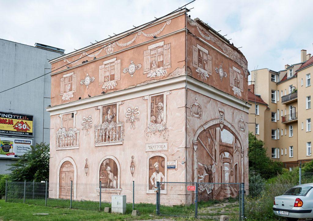 """Neighbors"" by Mark Maksimovich and Alex Novitski in Poznan, Poland"