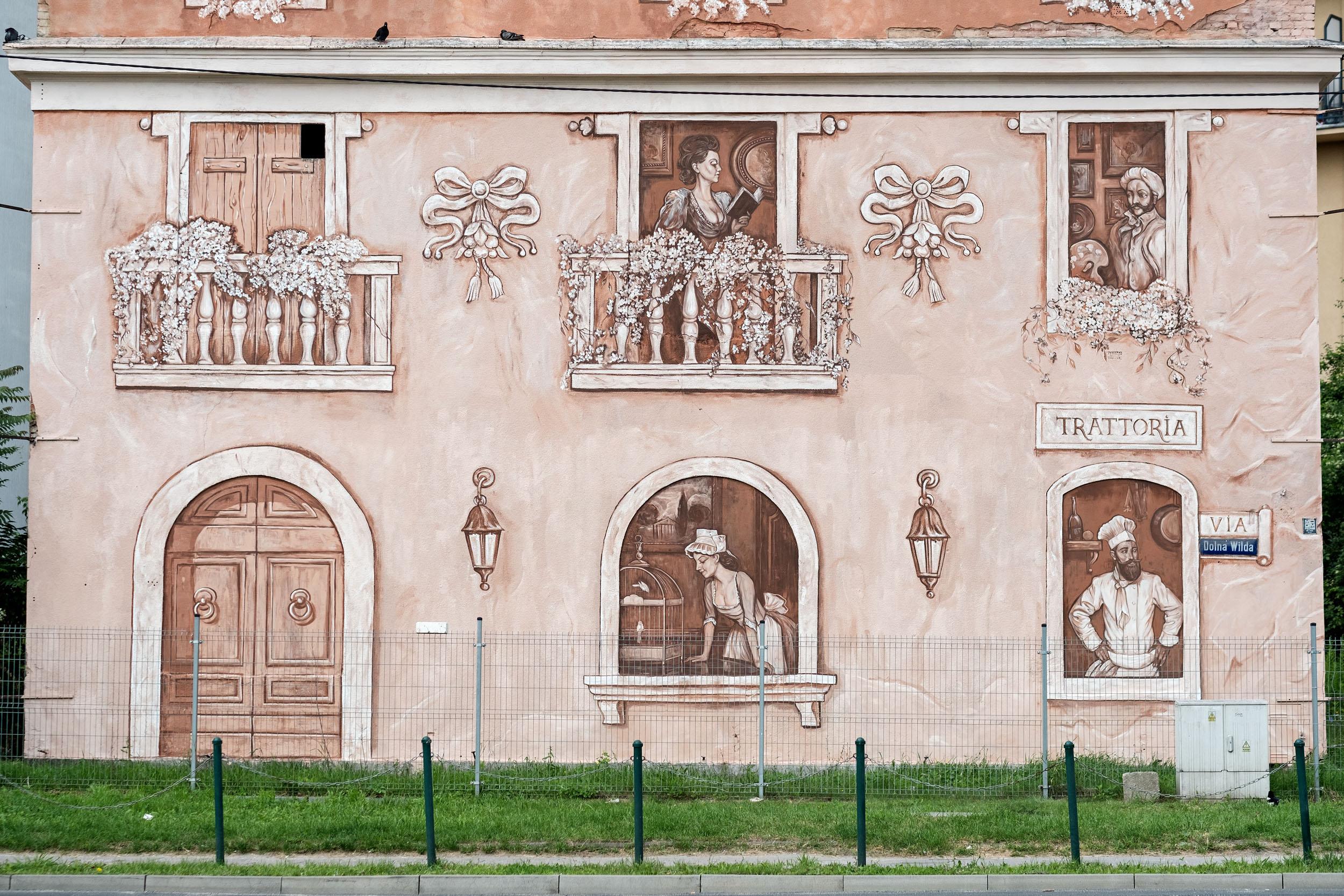 """Neighbors"" by Mark Maksimovich and Alex Novitski in Poznan, Poland Artes & contextos 005"