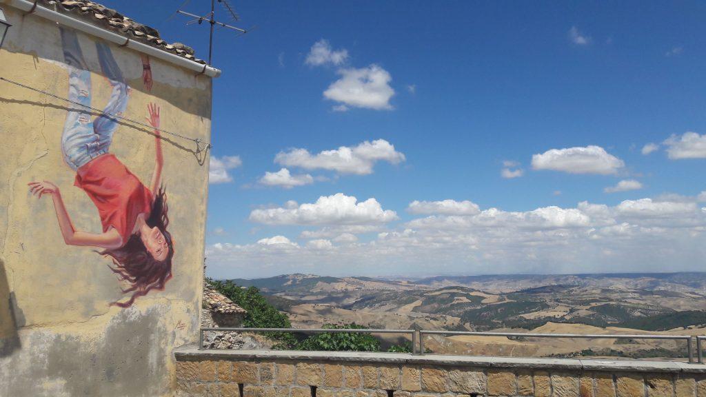 """""""It won't be collapse"""" by Mino di Summa in Stigliano, Italy"""