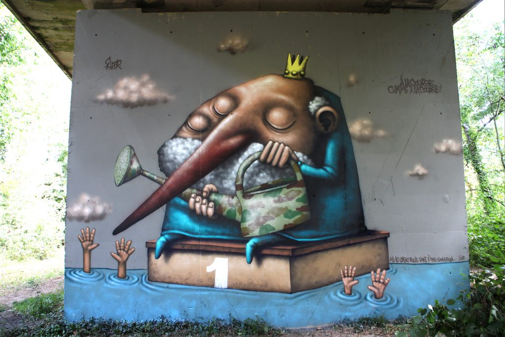 Three new murals by Ador in Ireland and France