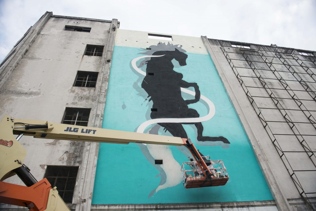 """Caballo Chúcaro"" by Sabek in Buenos Aires, Argentina"
