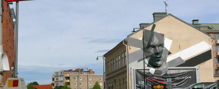 David Mesguich sculptural installation in Sweden