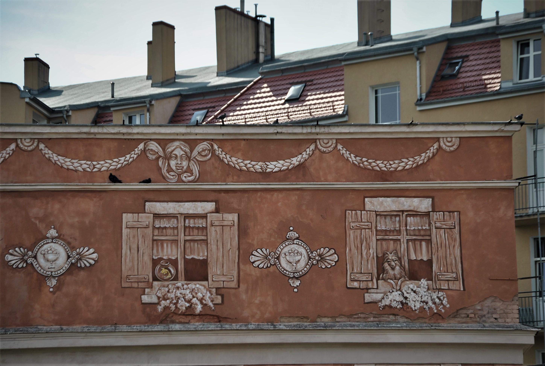 """Neighbors"" by Mark Maksimovich and Alex Novitski in Poznan, Poland Artes & contextos sciana7"