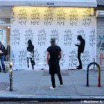 "New Thrashbird Mural ""Any Where From Here"" @ Rag & Bone, NYC"
