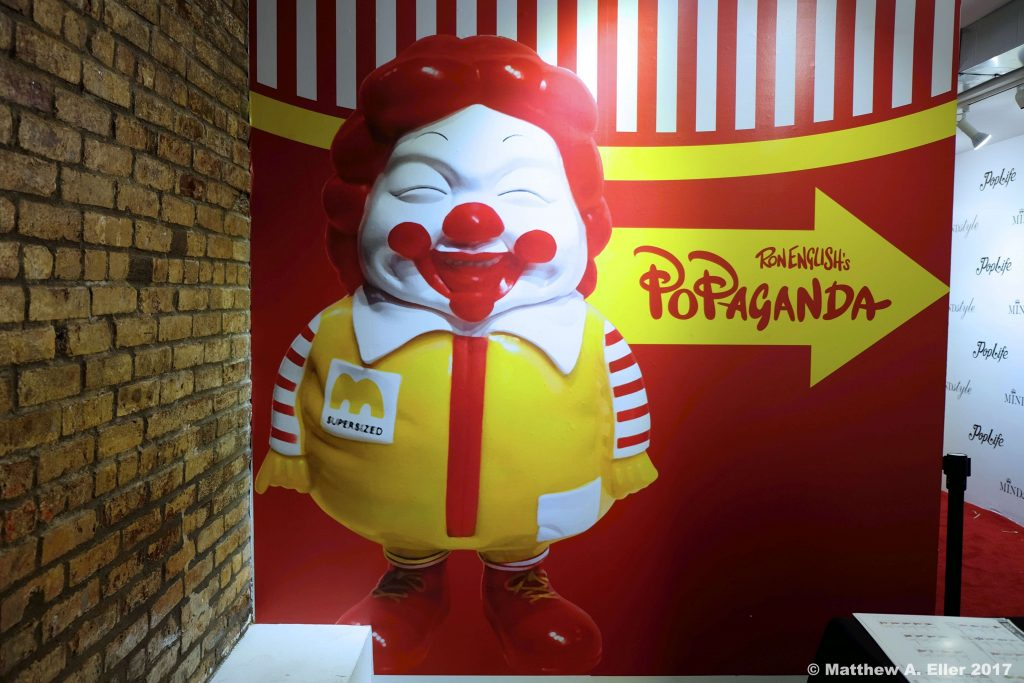 Coverage: Ron English Pop-Up @ Toy Tokyo, NYC