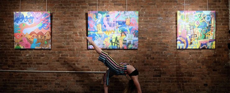 """Coverage: JPO """"This Life in Pieces"""" Solo Exhibition @ WallWorks, NYC"""