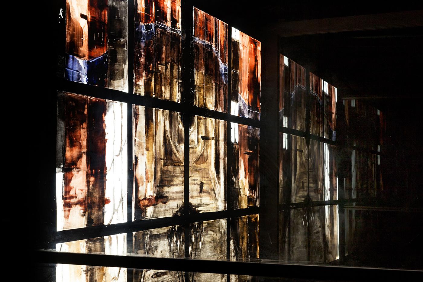 MATIÈRE NOIRE, exhibition by Gonzalo Borondo in Marseille, France Artes & contextos Matière Noire Borondo @ Blind Eye Factory