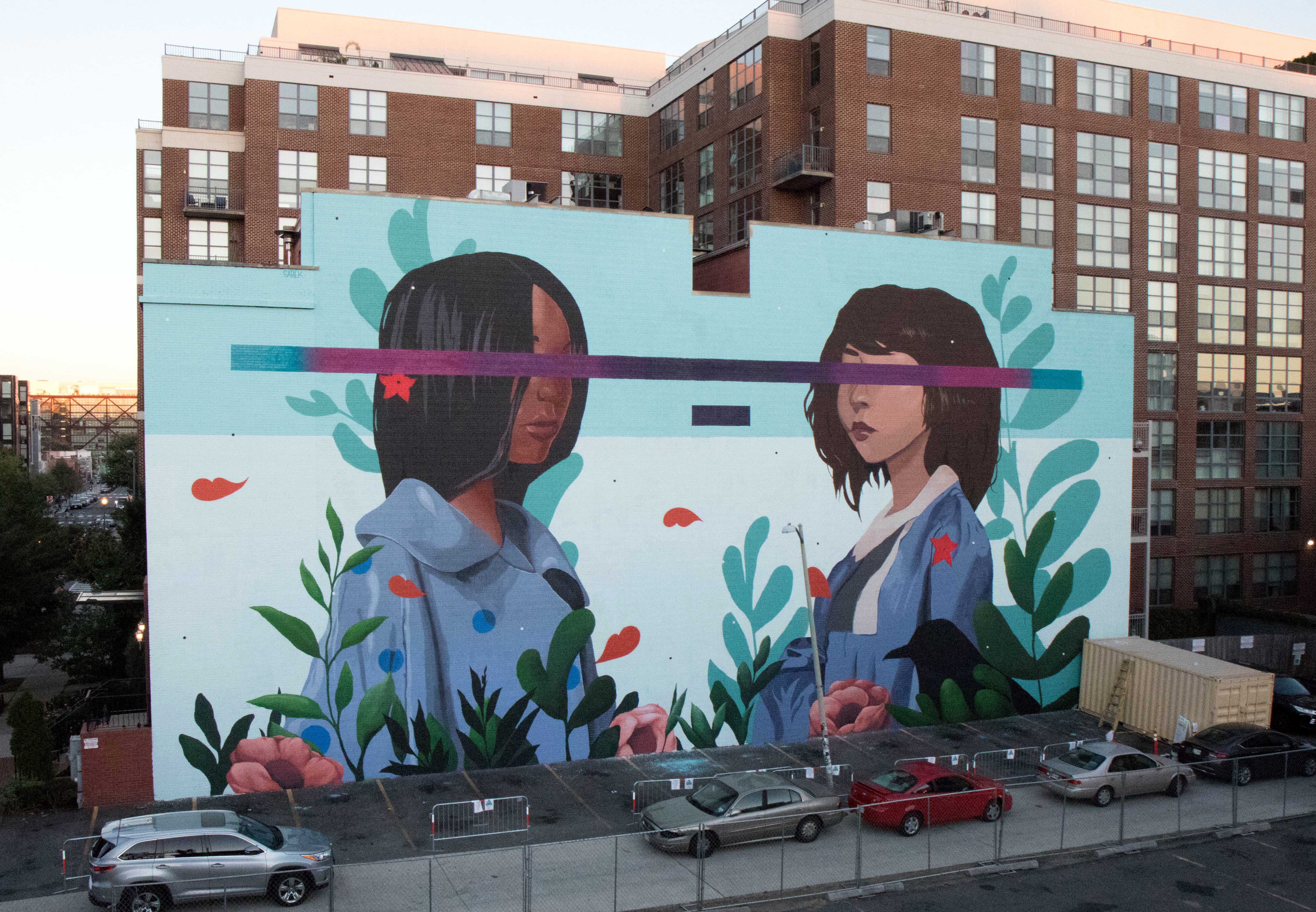 Indywatch feed allcommunity sabek has recently spend some time washington dc where he pained beautifully coloured mural named kindred for the district of columbia fandeluxe Choice Image
