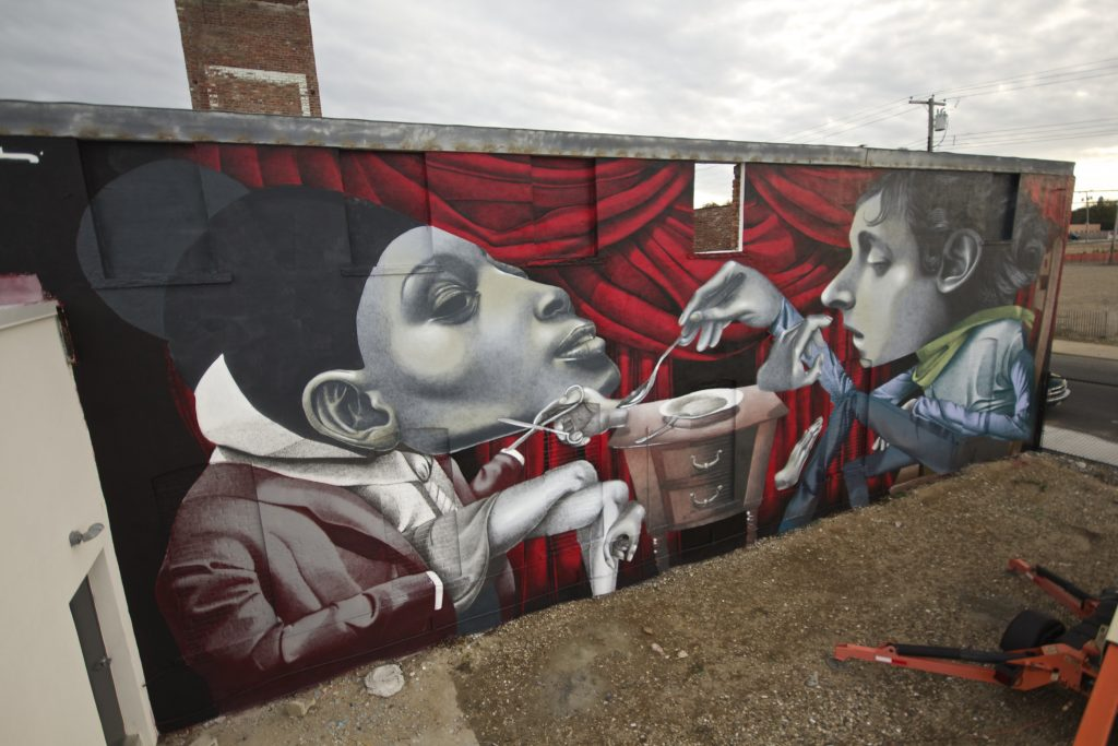 Two new murals from Ethos in Switzerland and USA
