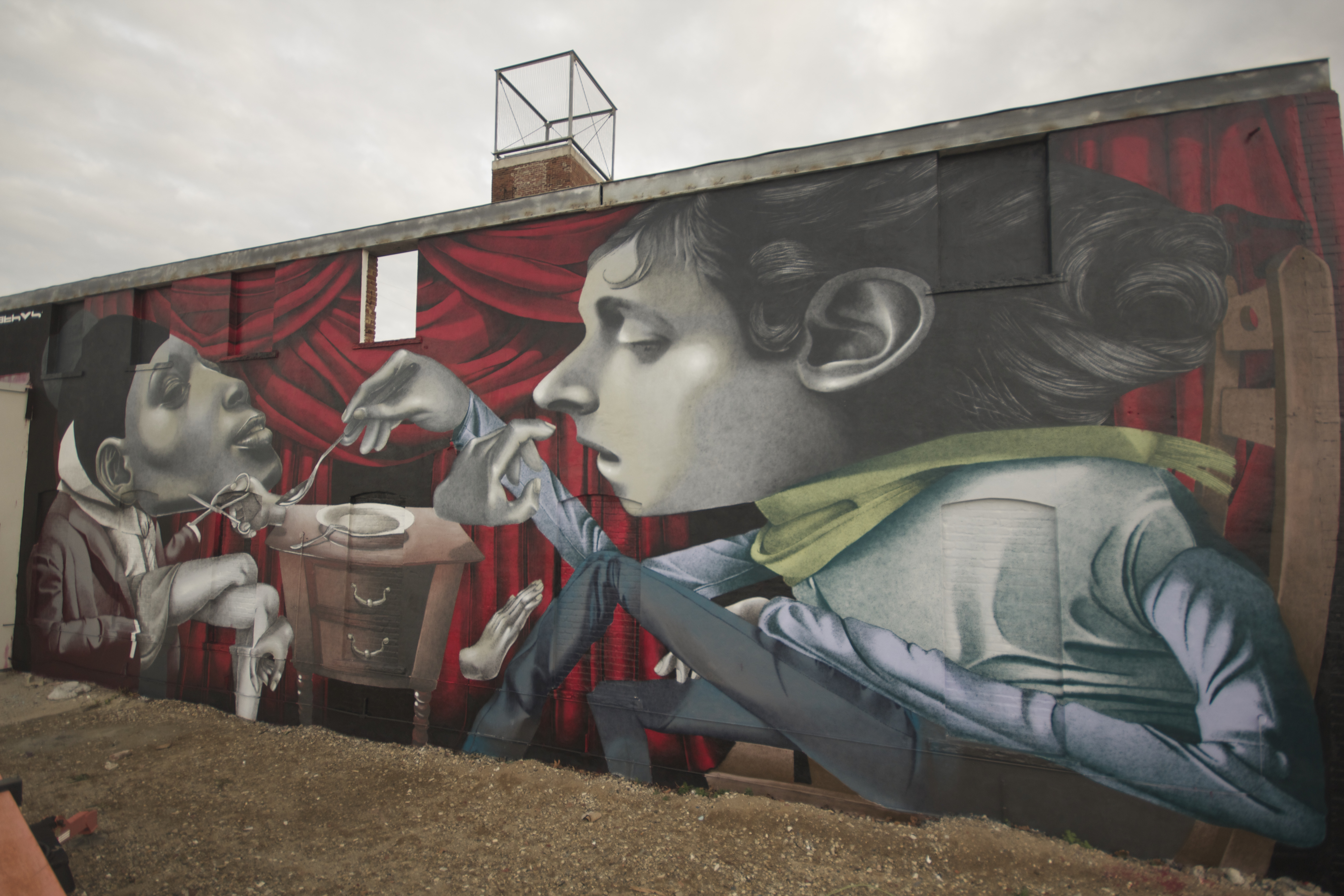 Two new murals from Ethos in Switzerland and USA Artes & contextos Ethos 5