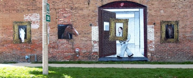 New Works from E. LEE in Chicago & Bloomington, IL