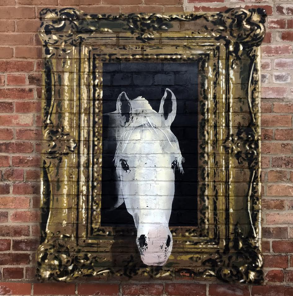 New Works from E. LEE in Chicago & Bloomington, IL Artes & contextos elee.horse3