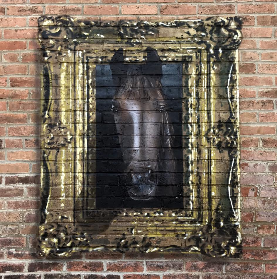 New Works from E. LEE in Chicago & Bloomington, IL Artes & contextos elee.horse5