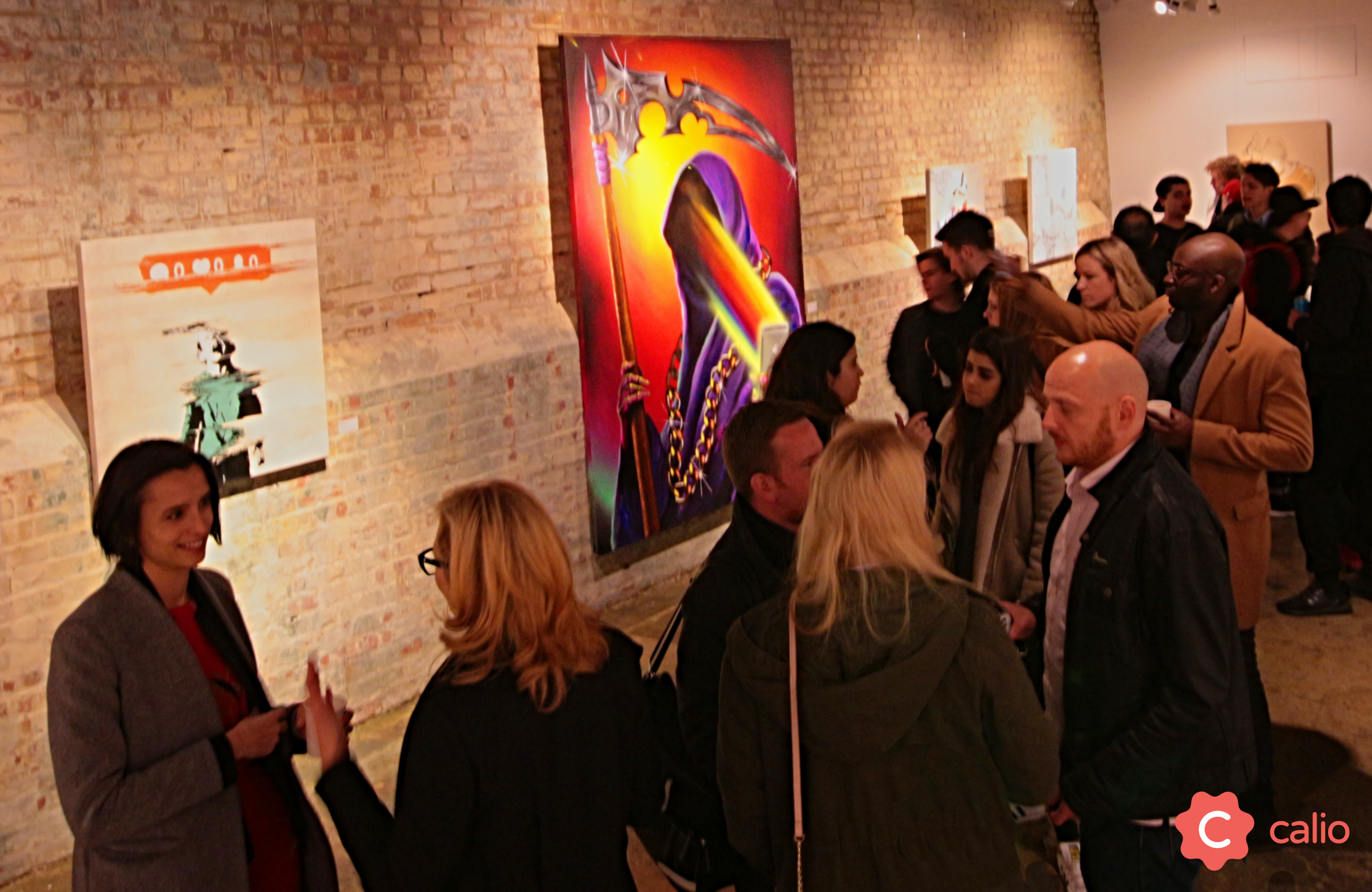 "Recap: ""The Social Paradox"" Group Exhibition @ London's Calio Artes & contextos Calio TheSocialParadox Crowd v3"