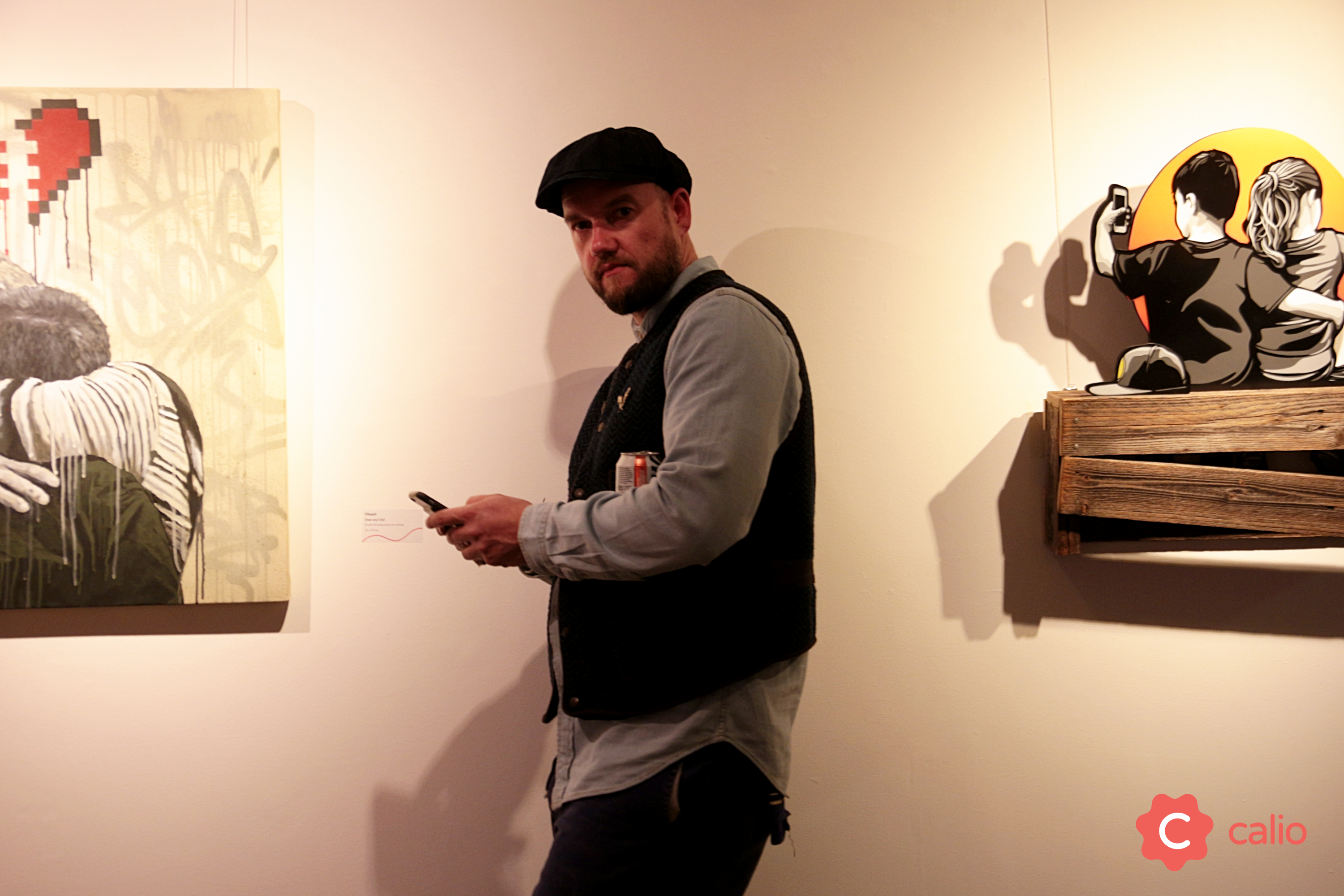 "Recap: ""The Social Paradox"" Group Exhibition @ London's Calio Artes & contextos Calio TheSocialParadox D Face v2"