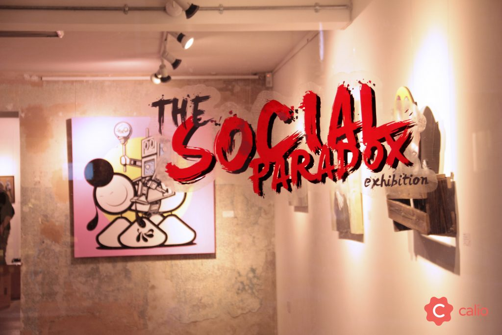 "Recap: ""The Social Paradox"" Group Exhibition @ London's Calio"