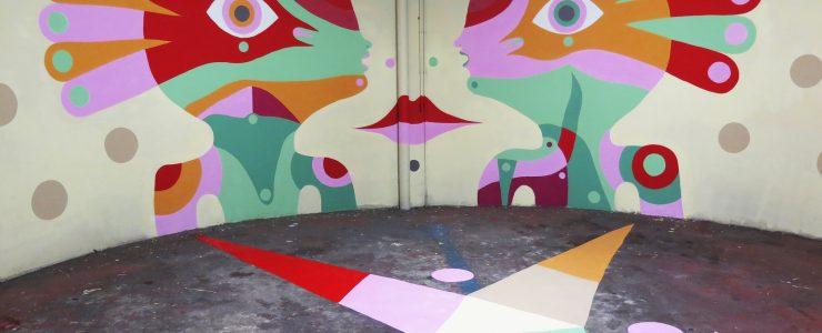 """""""Spazio – Tempo"""" by Gio Pistone in Ancona, Italy"""