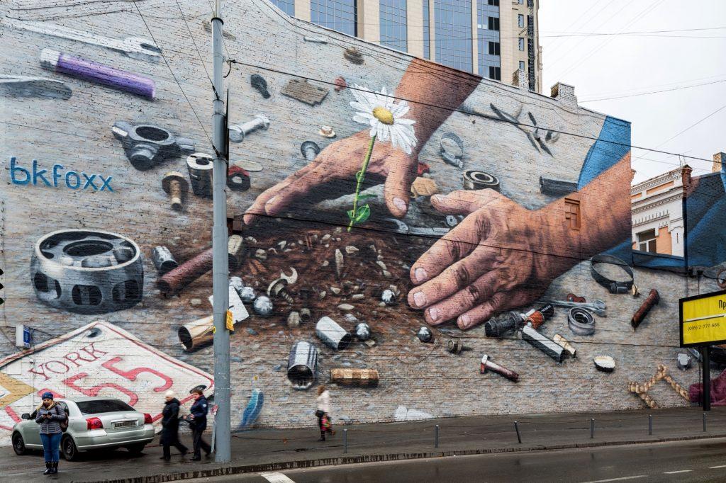 BKFoxx in Kiev, Ukraine