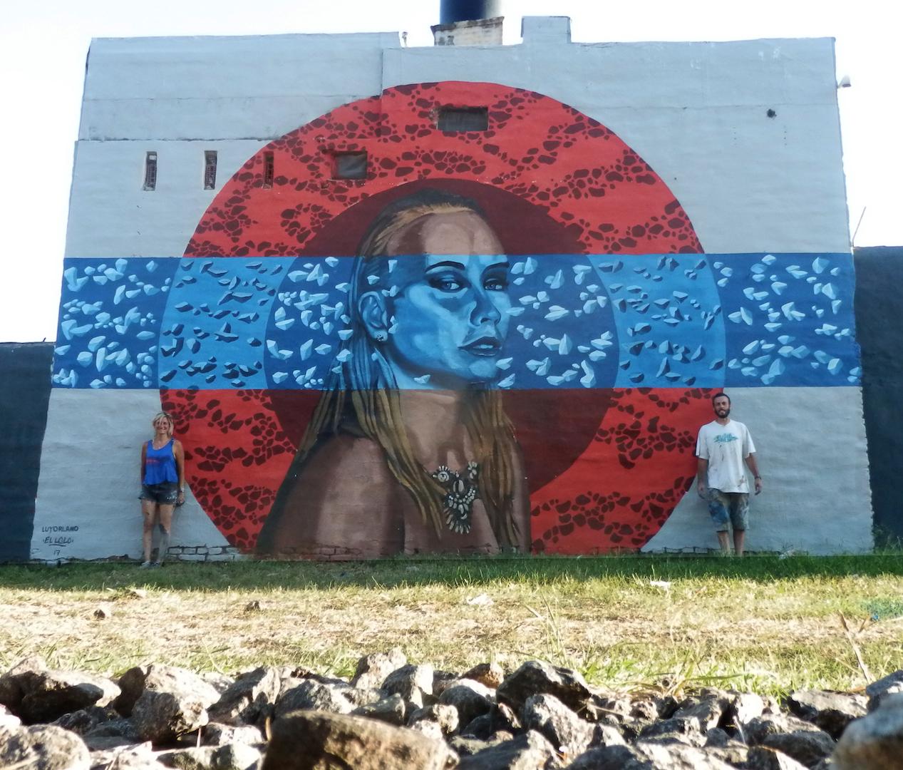 Lu yorlano and el lolo in c rdoba argentina for El mural guadalajara