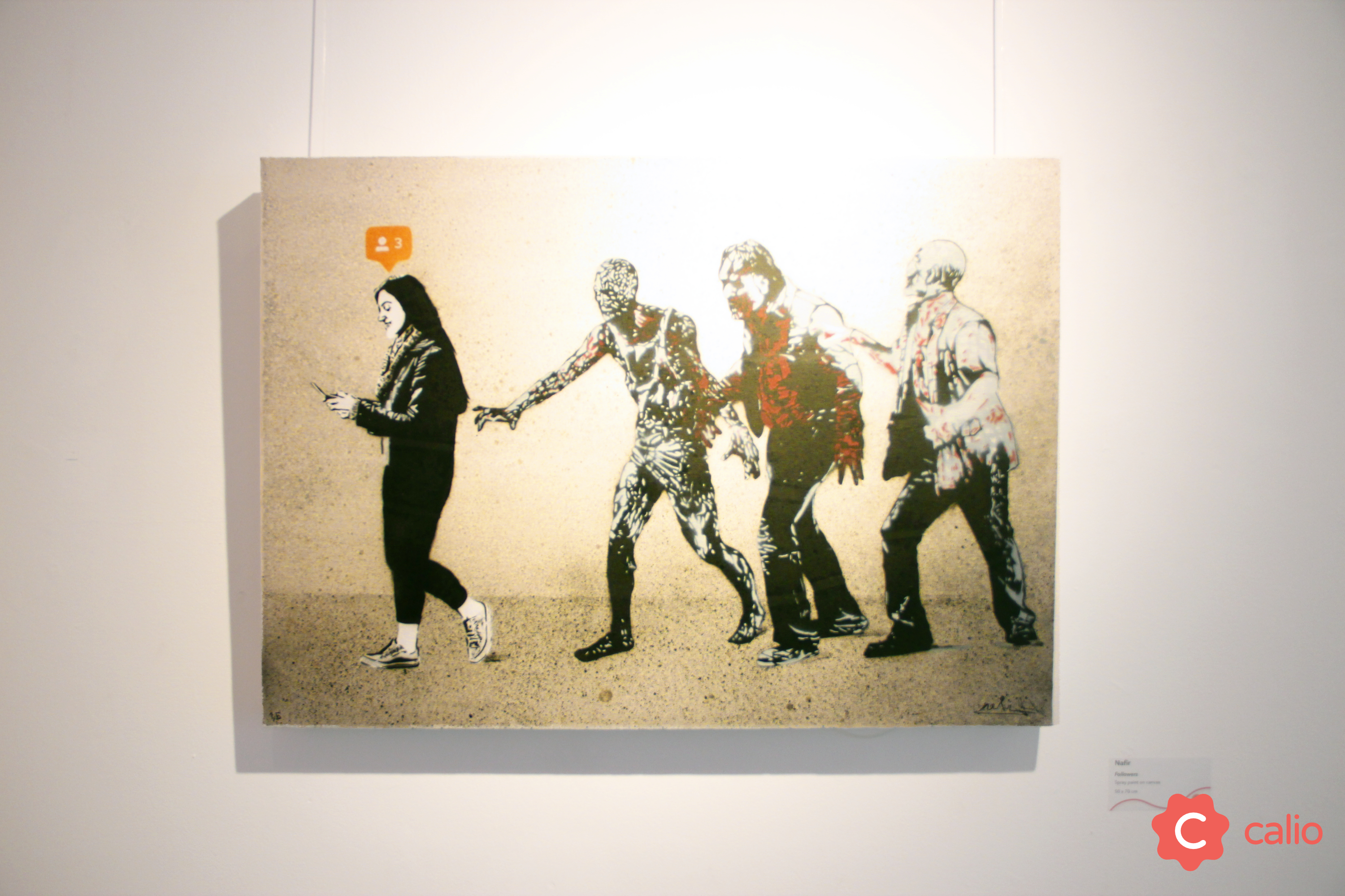 "Recap: ""The Social Paradox"" Group Exhibition @ London's Calio Artes & contextos Nafir Followers v2"