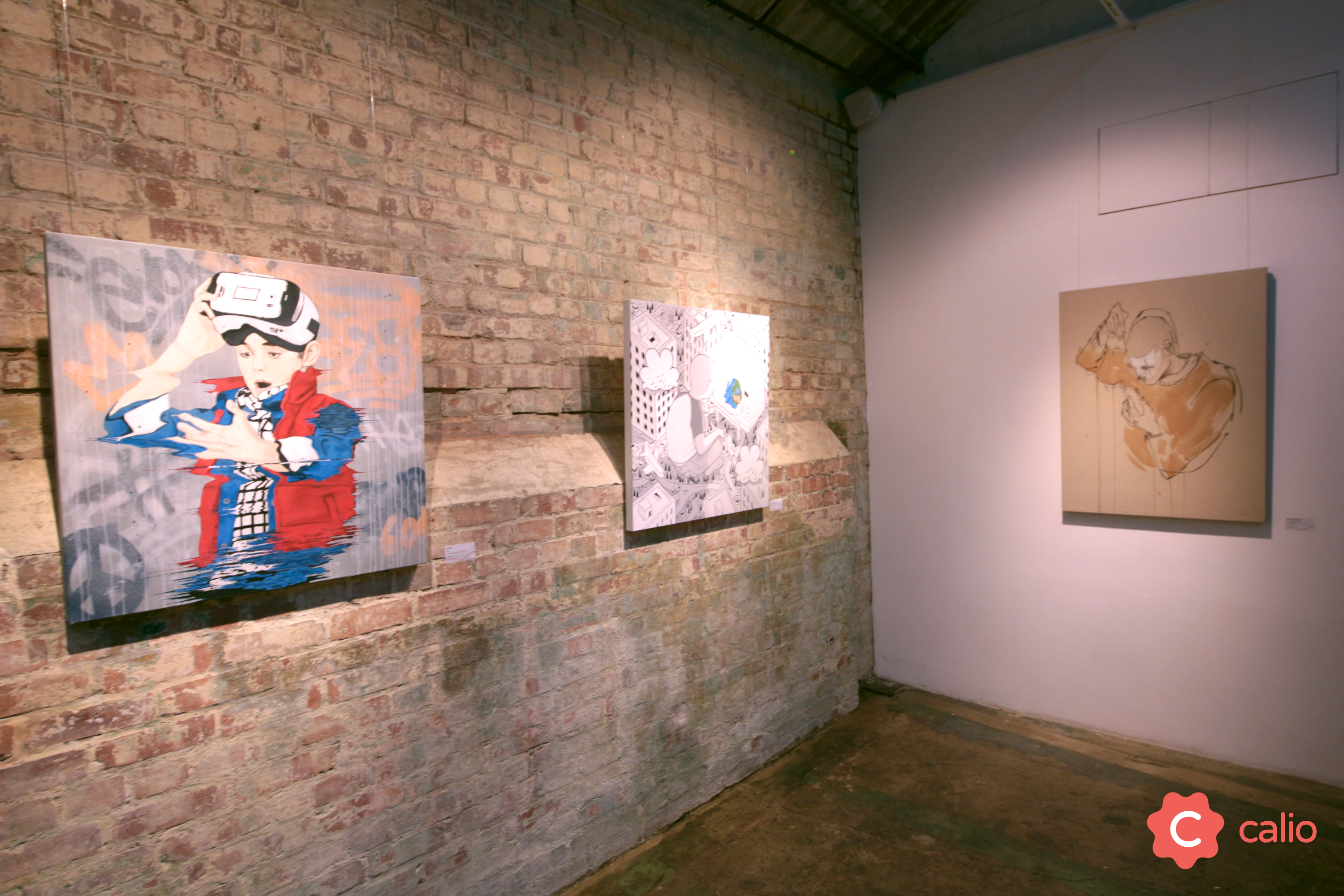 "Recap: ""The Social Paradox"" Group Exhibition @ London's Calio Artes & contextos Pan with iHeart Millo Word To Mother v2"