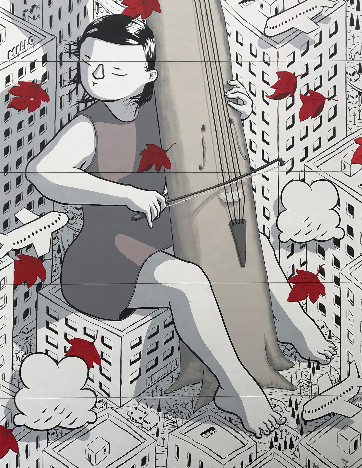 """Twist Of Fate"" & ""Sound Of You"" by Millo In Shanghai Artes & contextos SOUNDOFYOU3"