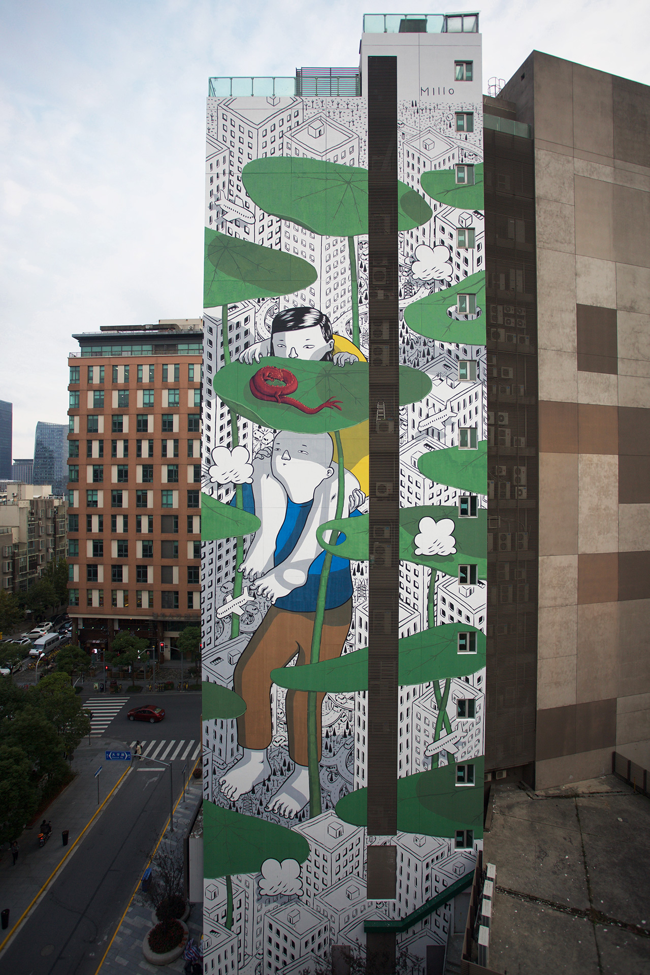 """Twist Of Fate"" & ""Sound Of You"" by Millo In Shanghai Artes & contextos TWISTOFFATE"