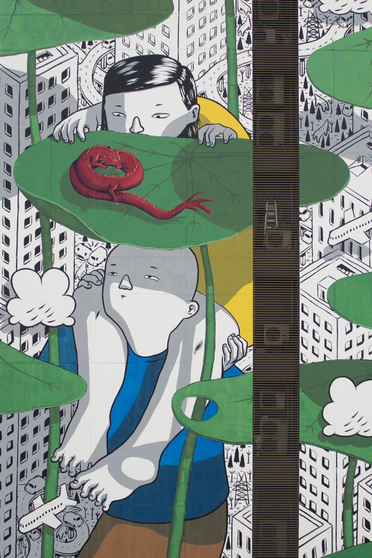 """Twist Of Fate"" & ""Sound Of You"" by Millo In Shanghai Artes & contextos TWISTOFFATE2"