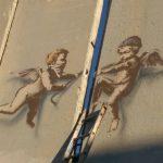 """Peace On Earth"" & ""Angels""  by Banksy in Bethlehem"