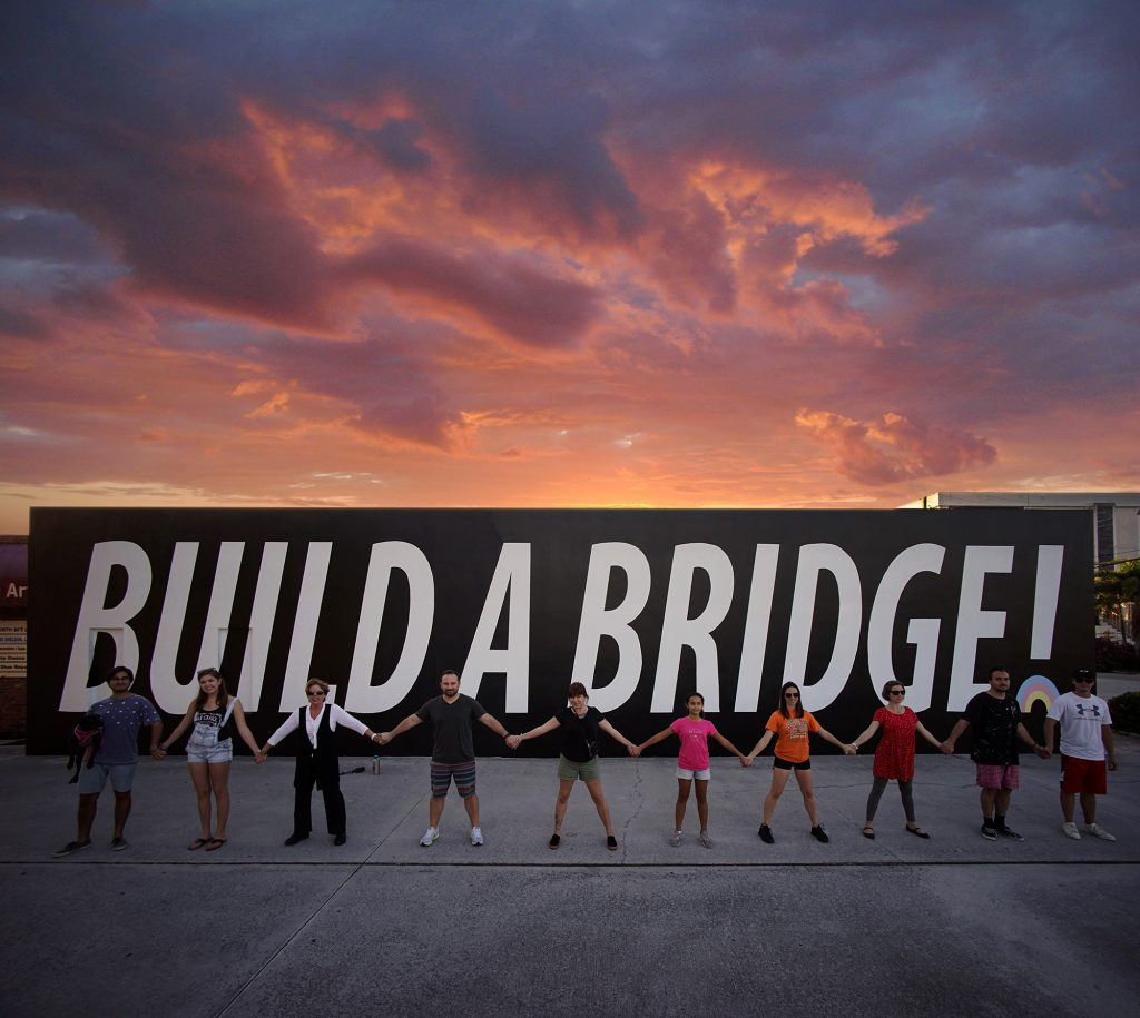 """Build A Bridge"" by Cyrcle in Palm Beach, Florida"