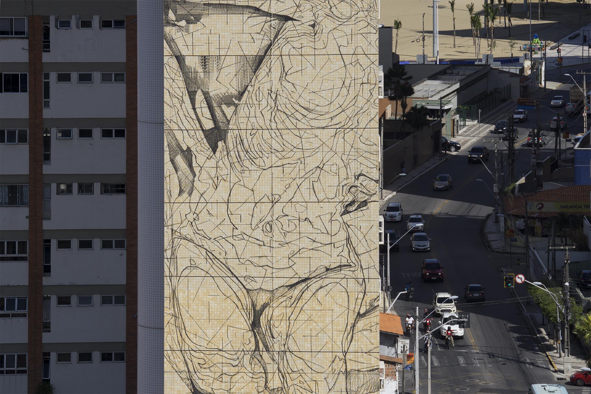 """""""Broken"""" by INO in Fortaleza, Brazil Artes & contextos ino concreto brazil 1"""