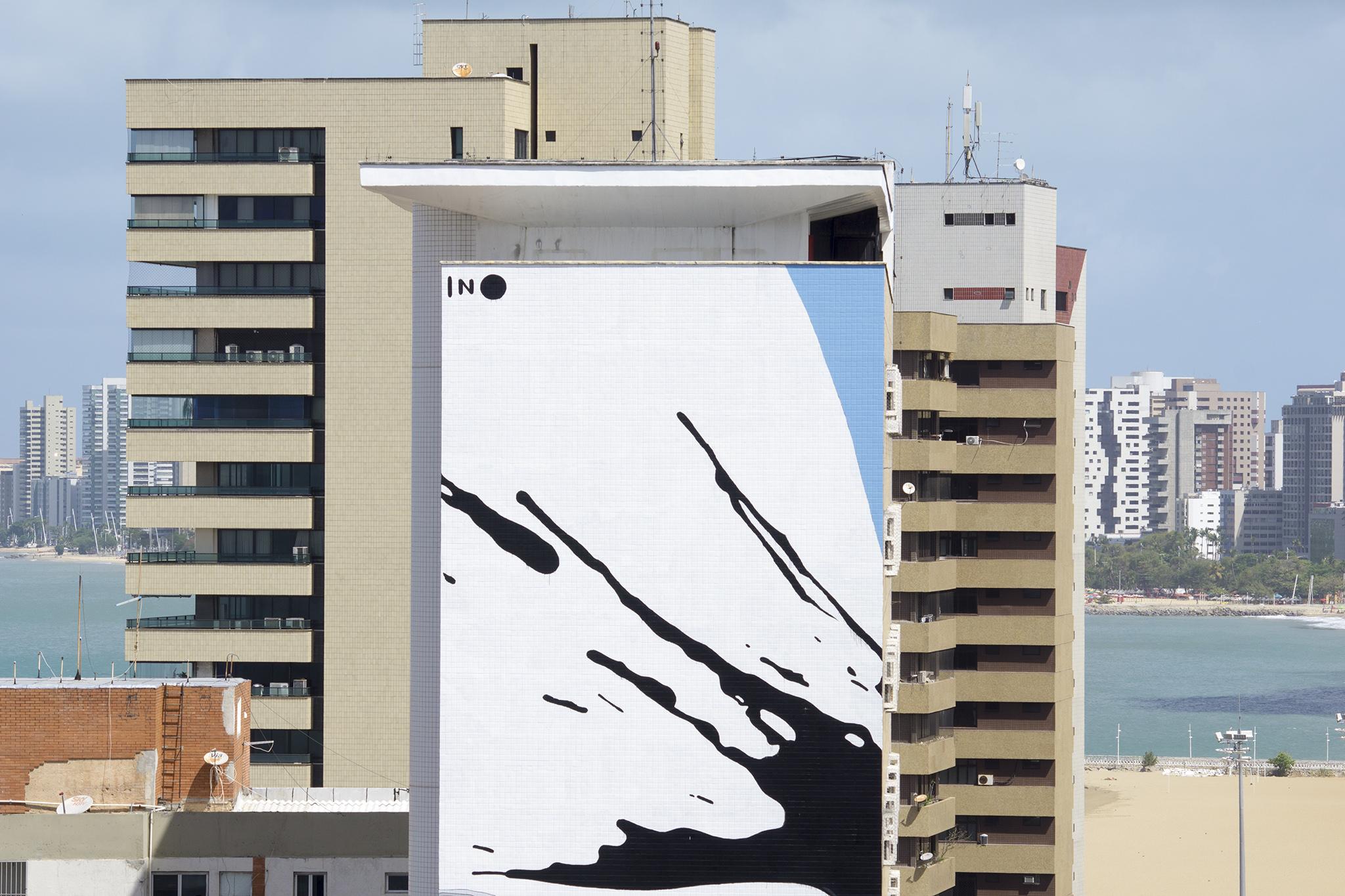 """""""Broken"""" by INO in Fortaleza, Brazil Artes & contextos ino concreto brazil 5"""