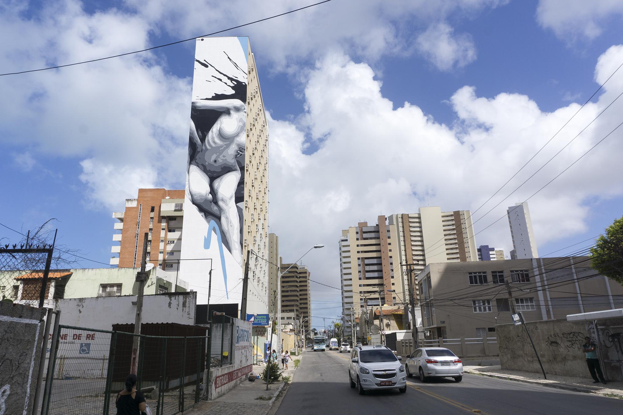 """""""Broken"""" by INO in Fortaleza, Brazil Artes & contextos ino concreto brazil 7"""