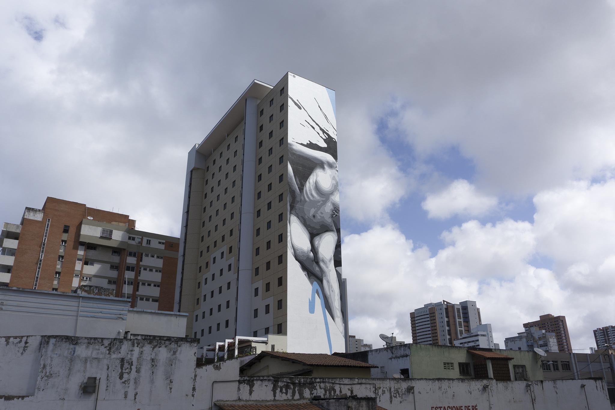 """""""Broken"""" by INO in Fortaleza, Brazil Artes & contextos ino concreto brazil 8"""