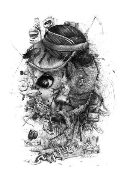 Da Mental Vaporz Print release Artes & contextos n importe quoi 02