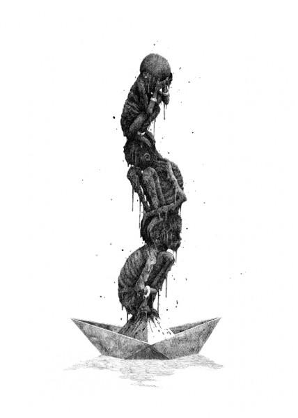 Da Mental Vaporz Print release Artes & contextos totem