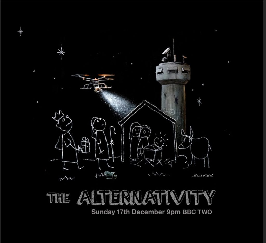 "Video: Banksy x Danny Boyle ""The Alternativity"""