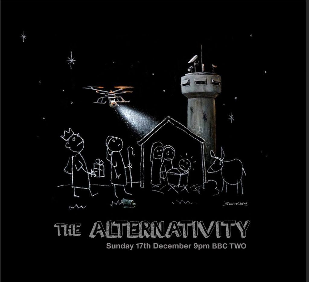 "Video: Banksy x Danny Boyle ""The Alternativity"""