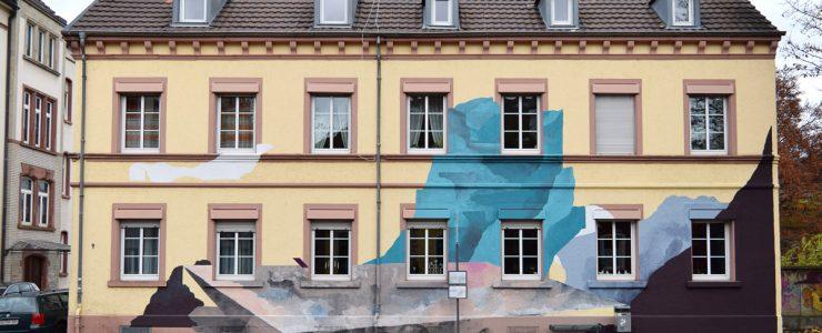 """""""Zur Freiheit"""" by Johannes Mundinger and Elias Errerd in Offenburg, Germany"""