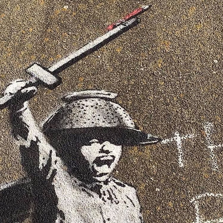 Banksy confirms latest piece of art found at Hull bridge