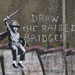 """Raise The Drawbridge"" by Banksy in Hull, UK"