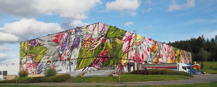 """""""Big and Bright"""" by DZIA in Humpolec, Czech Republic"""