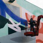 Blo new mural in Perpignan, France