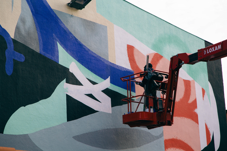 Blo new mural in Perpignan, France Artes & contextos D 083A1644