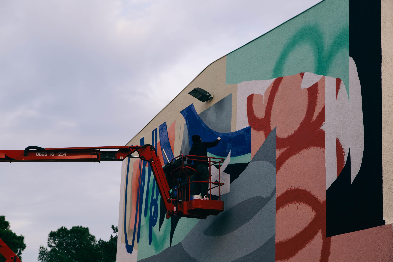Blo new mural in Perpignan, France Artes & contextos D 083A1649