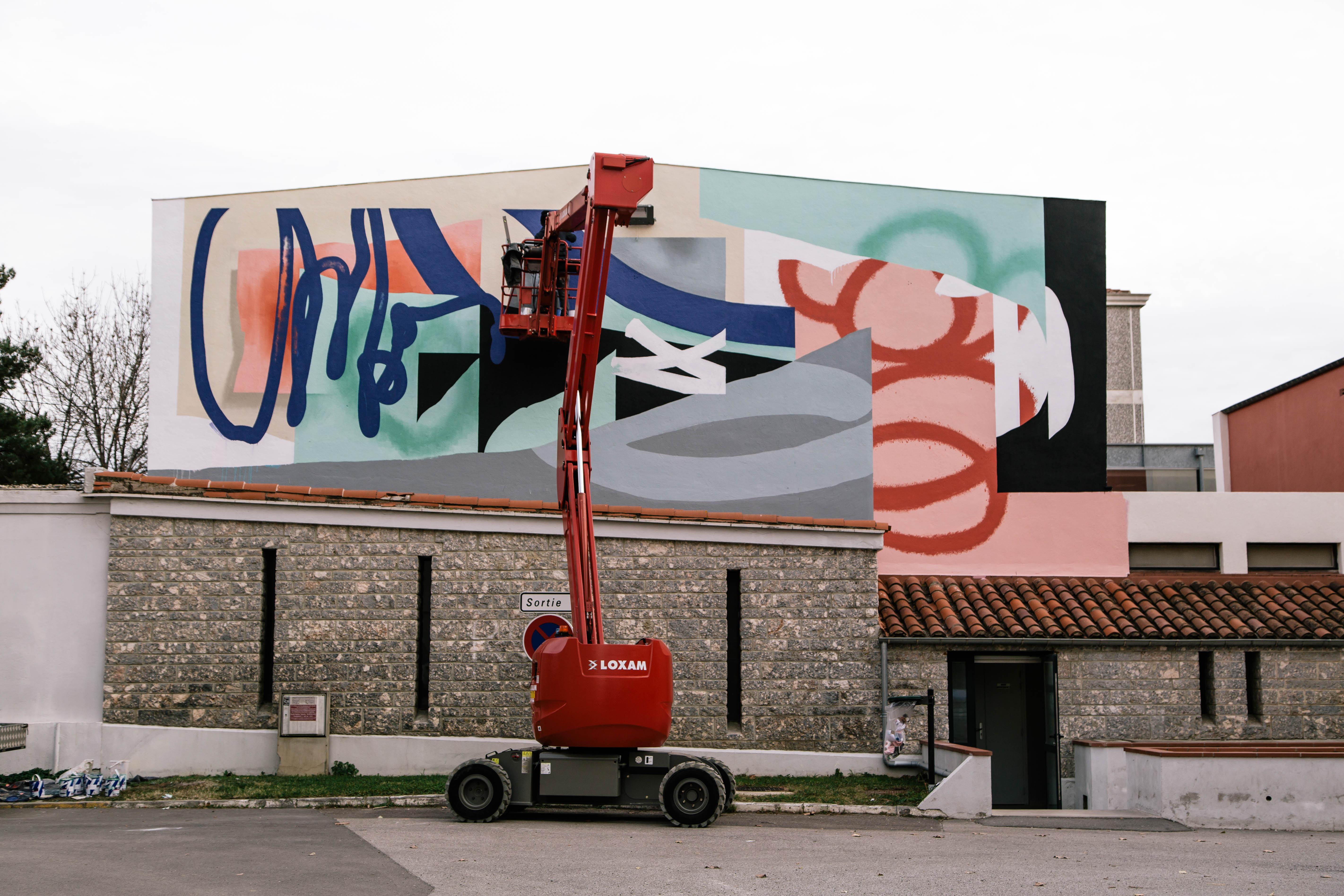 Blo new mural in Perpignan, France Artes & contextos D 083A1652