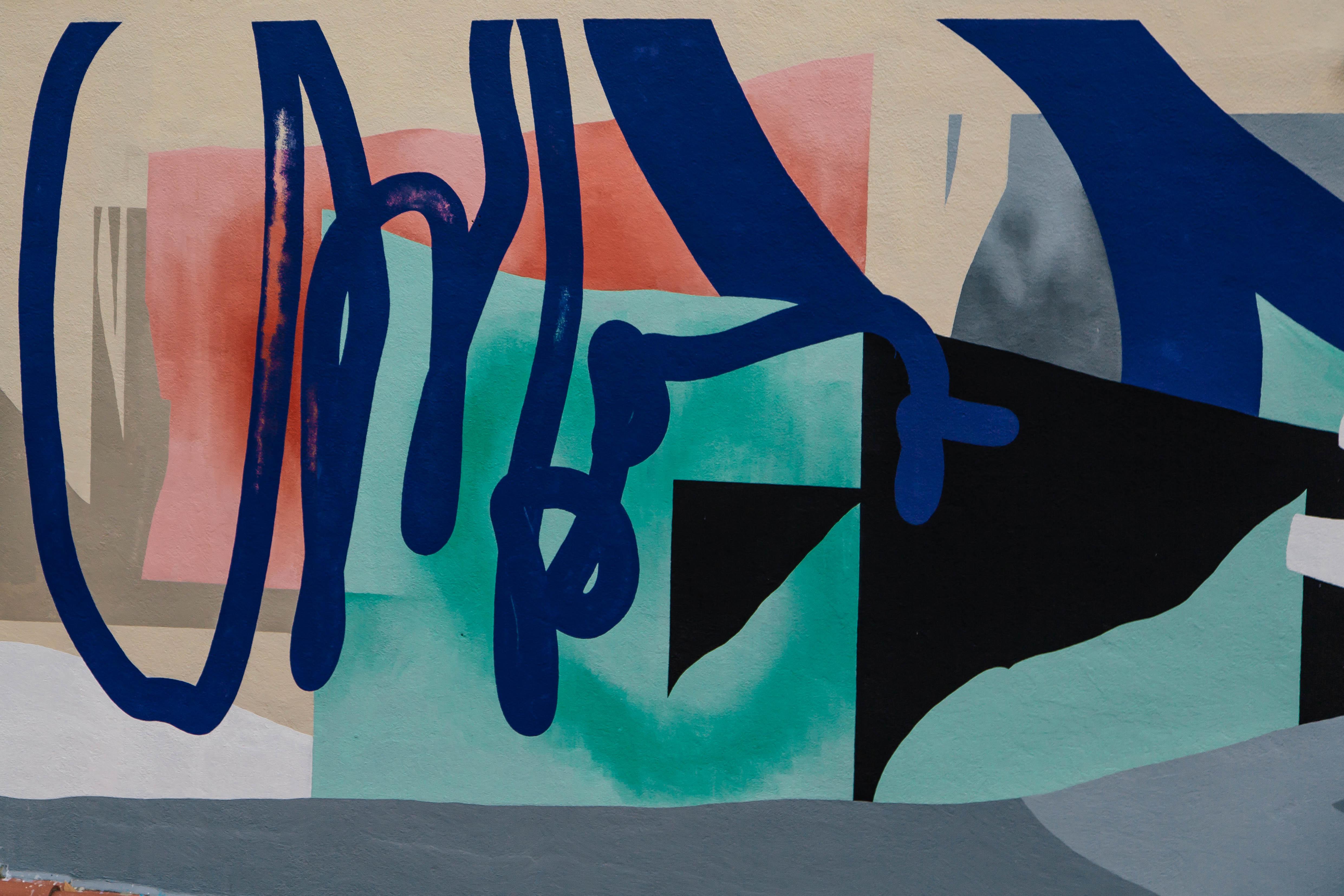 Blo new mural in Perpignan, France Artes & contextos D 083A1668