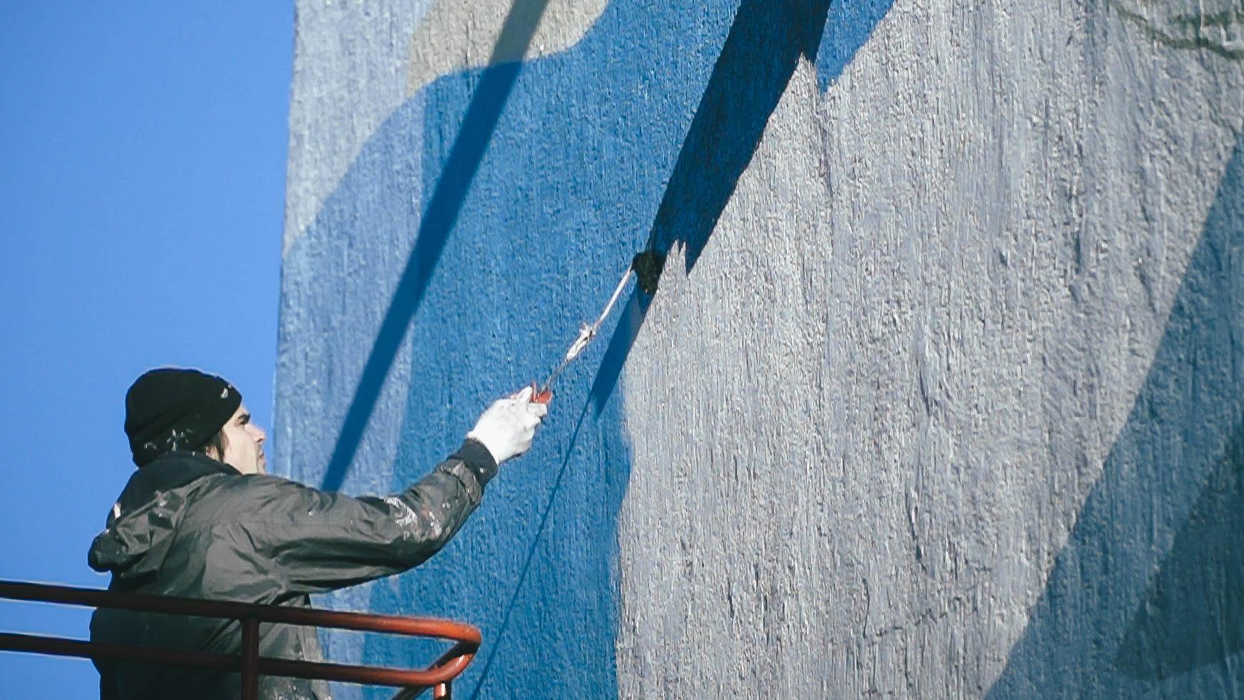 Blo new mural in Perpignan, France Artes & contextos D Clip0099.MXF .22 53 30 22.Image