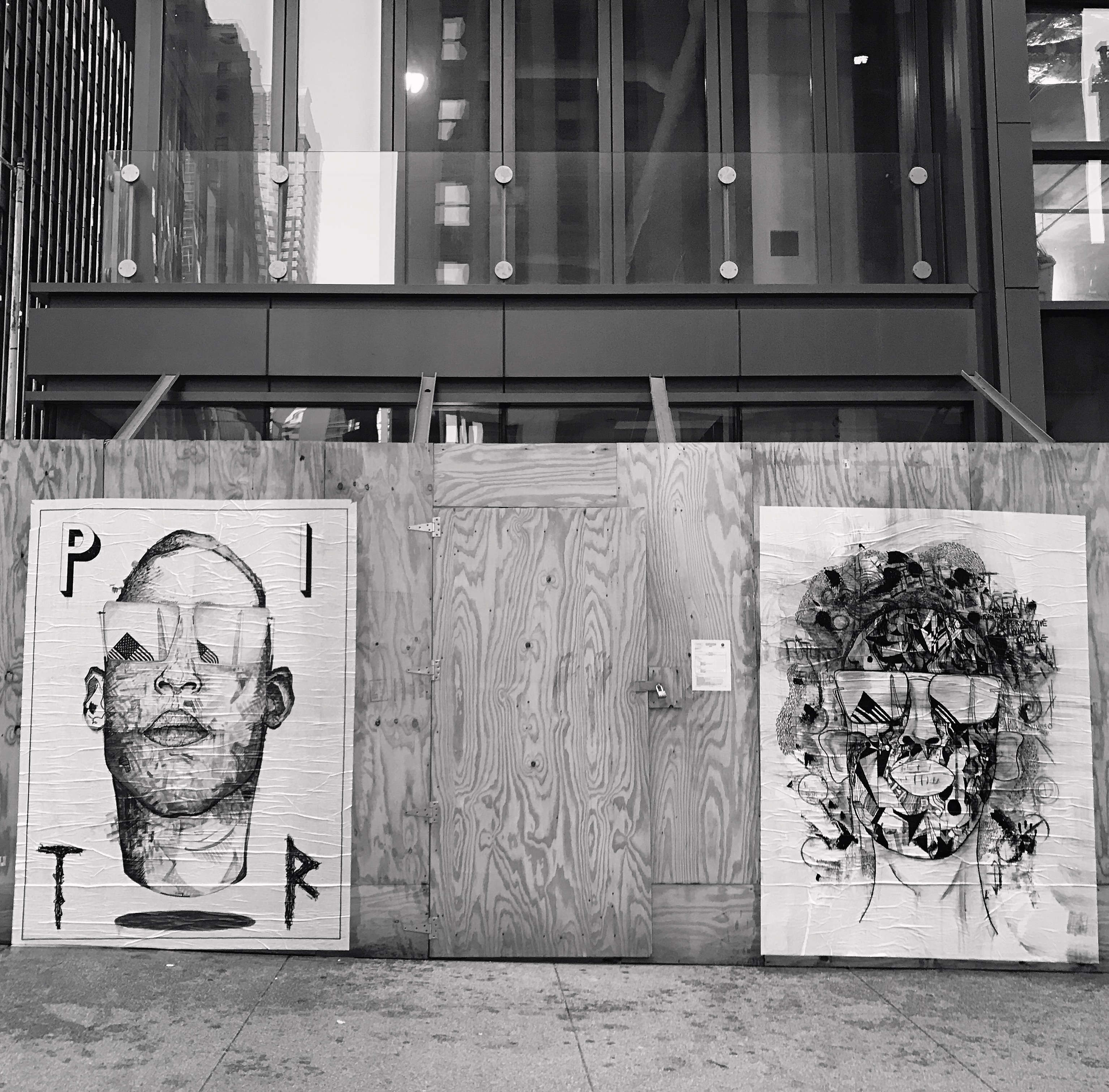 """PITR/Pizza In The Rain's Ambitious """"Good Example"""" Project in Chicago Artes & contextos Good Example 2 Portrait of Austin Clinton Brown Roland Santana x PITR"""