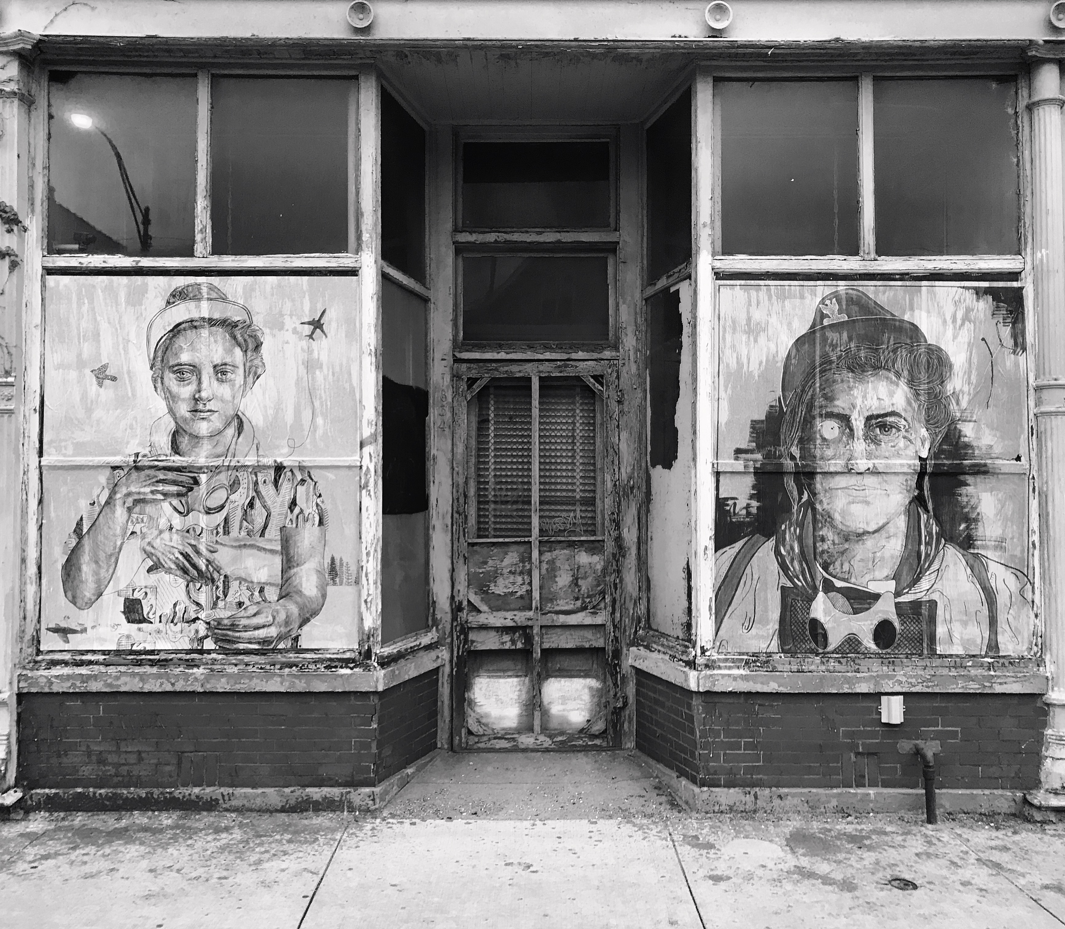 """PITR/Pizza In The Rain's Ambitious """"Good Example"""" Project in Chicago Artes & contextos Good Example 3 Portrait of Janina Forbertowna Danny Sobor x PITR"""